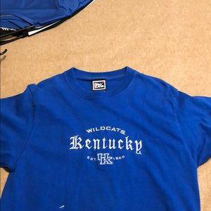 Blue Kentucky wildcats T shirt